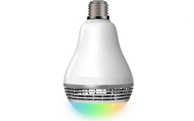 Smart LED žiarovka s výkonným reproduktorom a efektami 5 670x420 - Smart LED žiarovka s výkonným reproduktorom a efektami