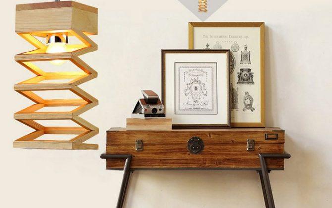 Závesné kreatívne drevené svietidlo LAMPARA10 670x420 - Závesné kreatívne drevené svietidlo - LAMPARA