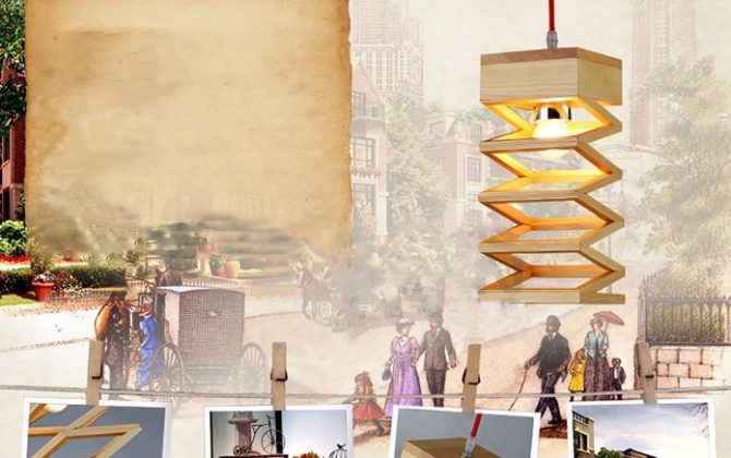 Závesné kreatívne drevené svietidlo LAMPARA5 670x420 - Závesné kreatívne drevené svietidlo - LAMPARA