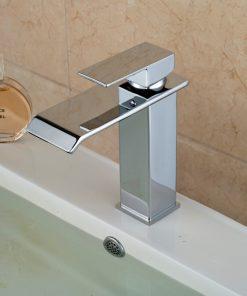 Dizajnová stojanková batéria na umývadlo