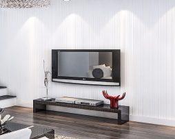 Moderná textilná reliéfna tapeta na stenu v bielej farbe