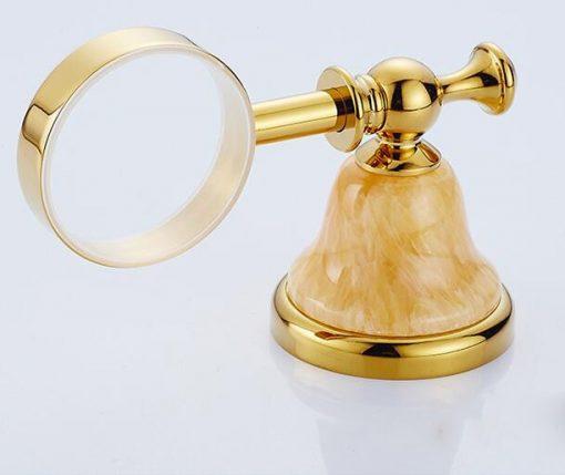 Luxusný mosadzný držiak na mydlo v rôznych prevedeniach