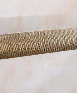 Mosadzné retro madlo / držiak na uteráky