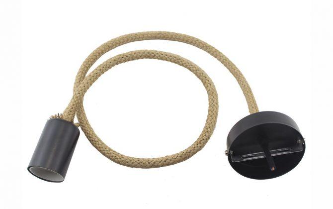 Závesné lanové svietidlo v retro štýle 4 670x420 - Závesné lanové svietidlo v retro štýle, 2 metre