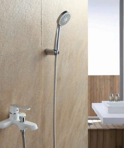 Moderná vaňová / sprchová batéria s farebným povrchom