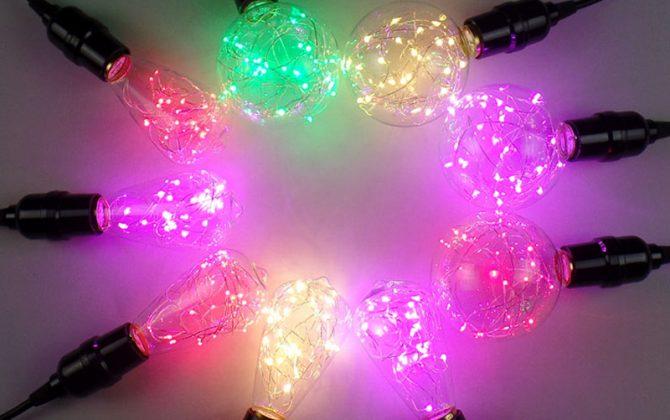 Jedná sa o novú LED technológiu EDISON žiaroviek 670x420 - Dekoračná LED žiarovka EDISON, E27, 150lm, Teardrop, Modrá