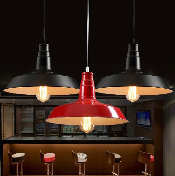 Moderné závesné svietidlo v červenej farbe 1 - Moderné závesné svietidlo v červenej farbe