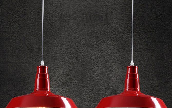Moderné závesné svietidlo v červenej farbe 3 670x420 - Moderné závesné svietidlo v červenej farbe