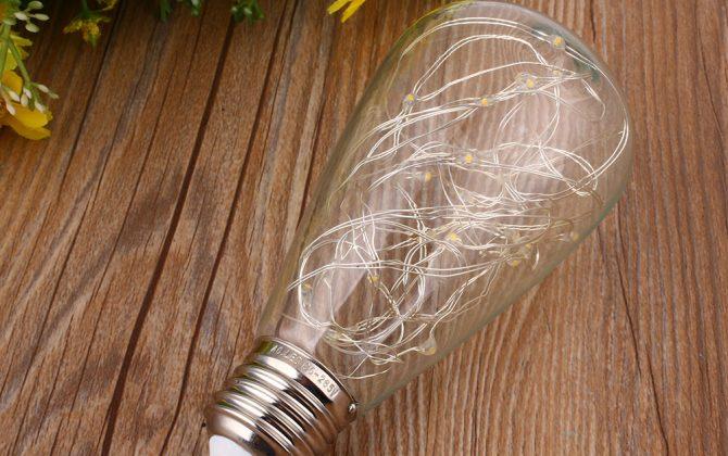 Vďaka dynamickému dizajnu tieto žiarovky napodobňujú klasicky štýl EDISON žiaroviek 670x420 - Dekoračná LED žiarovka EDISON, E27, 150lm, Teardrop, Modrá