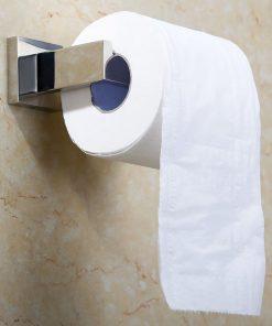 Držiak na toaletný papier s chrómovým povrchom