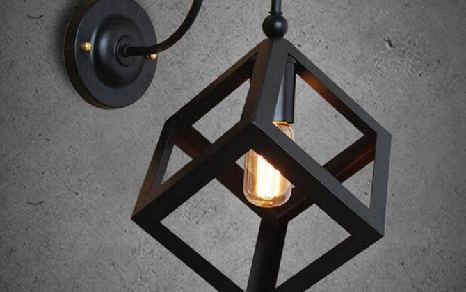 Kreatívne retro nástenné svietidlo v štýle kocky4 670x420 - Kreatívne retro nástenné svietidlo v štýle kocky