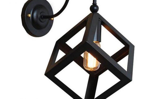 Kreatívne retro nástenné svietidlo v štýle kocky5 670x420 - Kreatívne retro nástenné svietidlo v štýle kocky