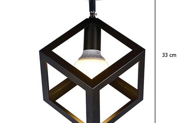 Moderné stropné svietidlo Kocka v čiernej farbe 1 670x420 - Moderné stropné svietidlo Kocka v čiernej farbe