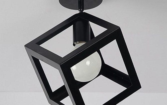 Moderné stropné svietidlo Kocka v čiernej farbe 2 670x420 - Moderné stropné svietidlo Kocka v čiernej farbe