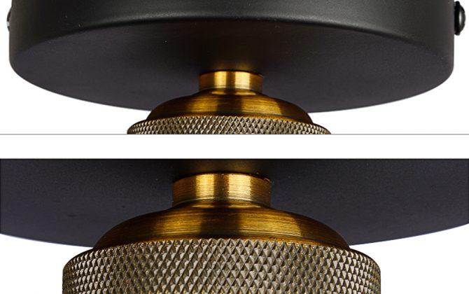 Stropné svietidlo historické s čiernym tienidlom. Svietidlo je vhodné ako hlavné osvetľovacie svietidlo do hotelov barov reštaurácií hál.1 670x420 - Stropné svietidlo historické s čiernym tienidlom