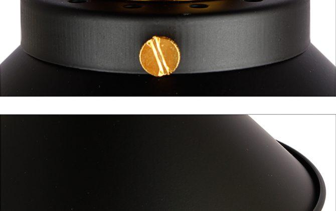 Stropné svietidlo historické s čiernym tienidlom. Svietidlo je vhodné ako hlavné osvetľovacie svietidlo do hotelov barov reštaurácií hál.2 670x420 - Stropné svietidlo historické s čiernym tienidlom