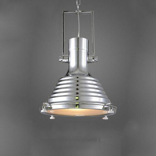 Vintage závesné svietidlo v striebornej farbe 50 x 40 cm - Vintage závesné svietidlo v striebornej farbe, 50 x 40 cm