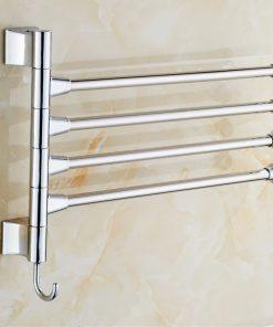 Otočný moderný vešiak na uteráky