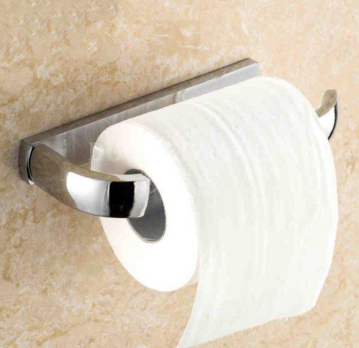Chrómový držiak na toaletný papier