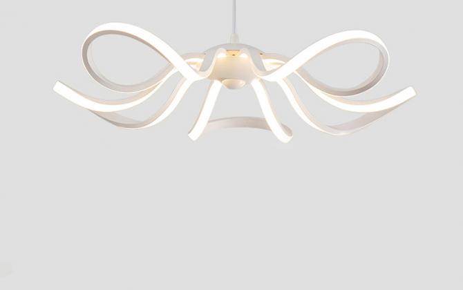 LED Moderné kreatívne závesné svietidlo RIBBON je svietidlo určené na strop v modernom vzhľade2 670x420 - LED Moderné kreatívne závesné svietidlo RIBBON