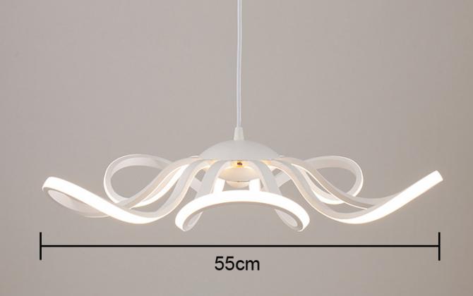 LED Moderné kreatívne závesné svietidlo RIBBON je svietidlo určené na strop v modernom vzhľade3 670x420 - LED Moderné kreatívne závesné svietidlo RIBBON
