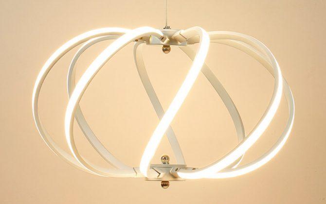 LED Moderné kreatívne závesné svietidlo SPIRAL3 670x420 - LED Moderné kreatívne závesné svietidlo SPIRAL, Teplá biela