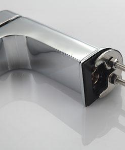 Moderná umývadlová stojanková batéria - chróm