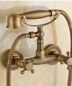 Luxusná sprchová batéria v retro štýle