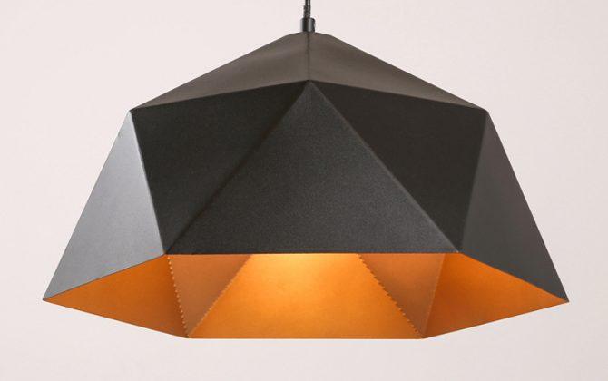 Závesné svietidlo Diamond v čiernej farbe  670x420 - Závesné svietidlo Diamond v čiernej farbe
