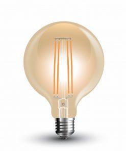 FILAMENT žiarovka - Spiral Vintage - E27, 7W, 700lm, Teplá biela