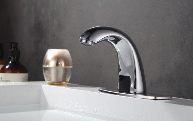 Bezdotyková vodovodná batéria so senzorom - len na studenú vodu