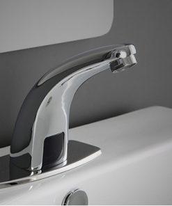 Bez-dotyková vodovodná batéria so senzorom