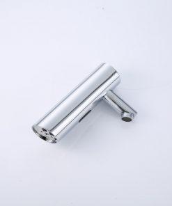 Bez-dotyková vodovodná batéria s páčkou na ovládanie teploty