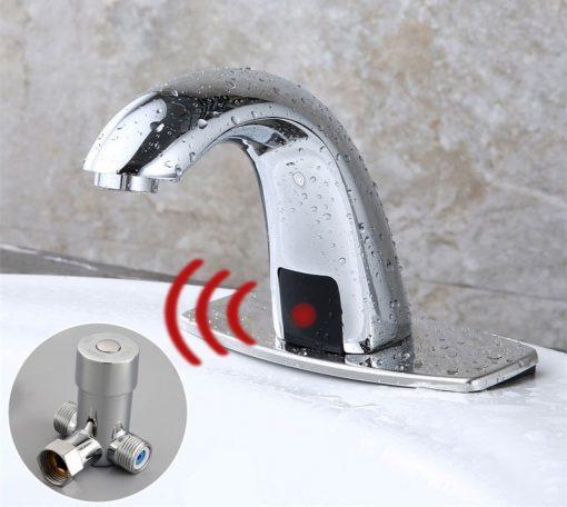 Bezdotyková vodovodná batéria so senzorom
