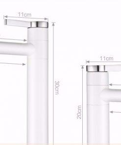 Dizajnová umývadlová a drezová batéria v dvoch veľkostiach