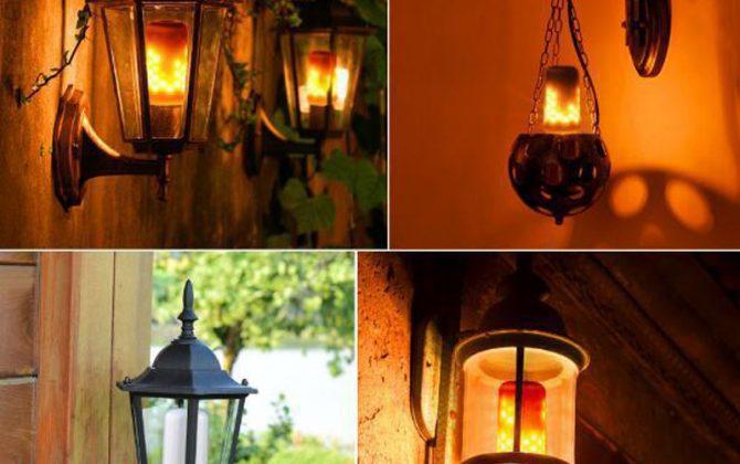 LED žiarovka imitujúca plameň E27 3W Teplá biela dva módy. LED žiarovka s originálnym naprogramovaním imituje horiaci plameň efekt sa znásobí použitím vhodného svietidla s mliečnym sklom 5 670x420 - LED žiarovka imitujúca plameň, E27, 3W, Teplá biela, dva módy