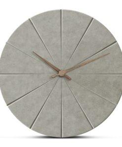 Moderné minimalistické drevené nástenné hodiny