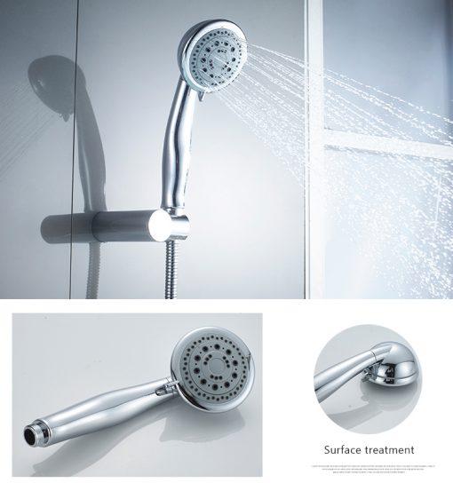 Luxusná vaňová batéria so sprchou v modernom dizajne