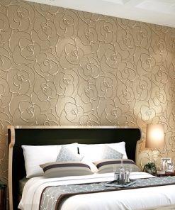 Luxusná tapeta na stenu so vzorom kvetu v rôznych farbách