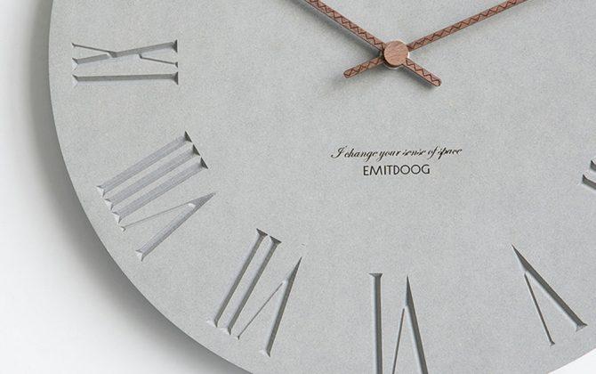 Luxusné drevené nástenné hodiny s rímskymi číslicami . 670x420 - Luxusné drevené nástenné hodiny s rímskymi číslicami