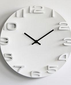 Moderné nástenné hodiny Silence