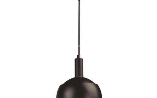 Plastové závesné svietidlo s tienidlom v čiernej farbe 670x420 - Plastové závesné svietidlo s tienidlom v čiernej farbe