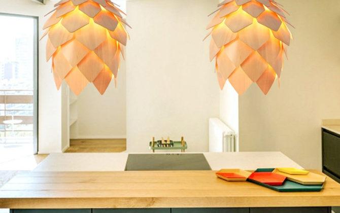 Závesné kreatívne drevené svietidlo ART je kreatívne svietidlo ktoré uchváti každého návštevníka vašich priestorov svojím jedinečným dizajnom. 3 670x420 - Kreatívne drevené svietidlo závesné - ART, priemer 25cm