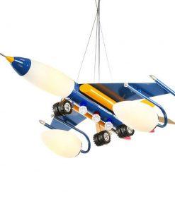 Detské závesné svietidlo v tvare stíhačky (2)