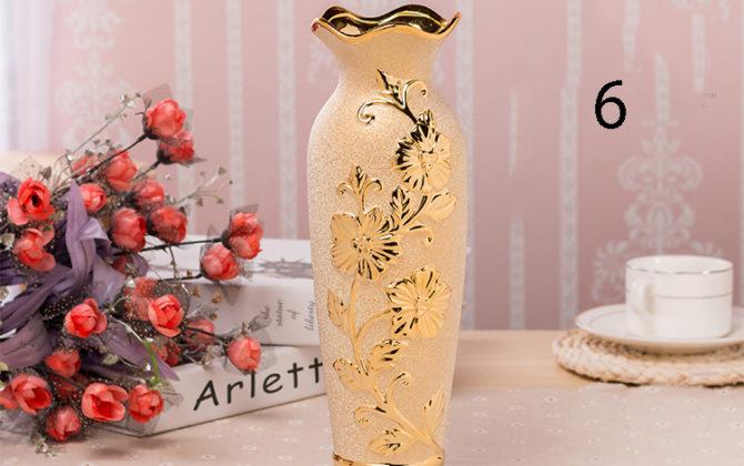 Elegantná porcelánová váza v zlatej farbe 6 670x420 - Elegantná porcelánová váza v zlatej farbe v rôznych variantoch