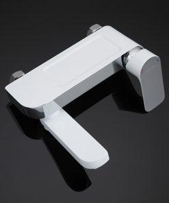 Dizajnová vaňová batéria so sprchou s otočným hrdlom