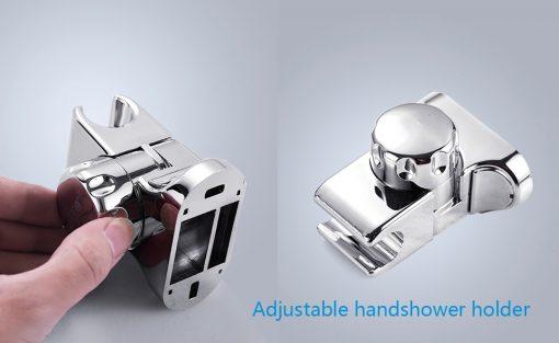 Dizajnový sprchový panel s ručnou a hlavovou sprškou