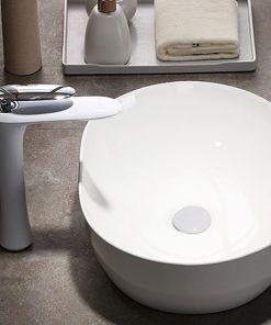 Dizajnová umývadlová batéria vo viacerých prevedeniach