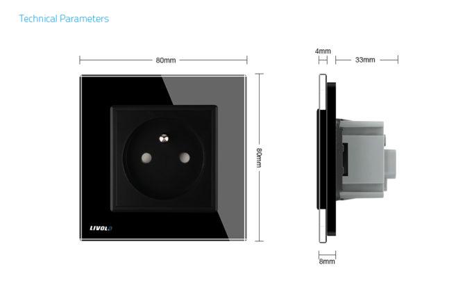 Luxusná zásuvka s ochranným kolíkom v čiernej farbe 3 670x420 - Luxusná zásuvka s ochranným kolíkom v zlatej farbe