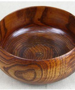 Luxusná veľká miska z dreva